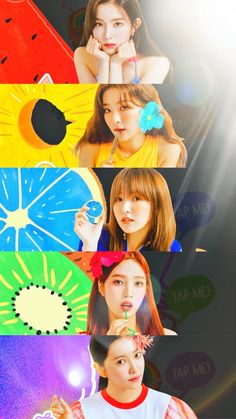 Fun Things — 레드벨벳(Red velvet) - 'Summer Magic' Lock/Home. Wendy Red Velvet, Red Velvet Joy, Red Velvet Irene, Seulgi, Rv Wallpaper, Velvet Wallpaper, Park Sooyoung, Snsd, Kpop Girl Groups