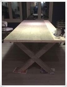 Hacks Diy, Ikea Hacks, Diy Farmhouse Table, Diy Furniture, Diy And Crafts, Dining Table, Tables, Home Decor, Design