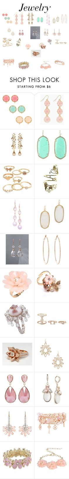 """""""Jewelry I would totally wear❤"""" by verostyle16 ❤ liked on Polyvore featuring Ben-Amun, Kendra Scott, Mudd, London Road, Rosa de la Cruz, Dettagli, Forever 21, Givenchy, Irene Neuwirth and Henri Bendel"""