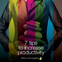 7 tips to increase productivity Increase Productivity, Creative, Tips, Blog, Counseling