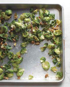 Crisp Brussels Sprout Leaves