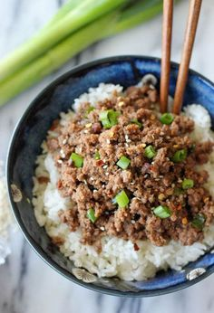Any fan of Korean barbecue will love this flavorful 15-minute recipe.  Get the recipe at Damn Delicious.   - CountryLiving.com