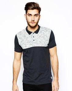 Jack & Jones Polo Shirt In Color Block