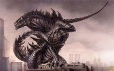 Tristar's Godzilla (1998) concept art