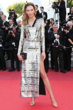 Karlie Kloss at the #Cannes Julieta premiere.