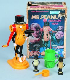 Peanut butter maker, Vintage toys and Peanuts