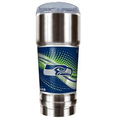 Seattle Seahawks 32-Ounce Pro Stainless Steel Tumbler, Multicolor