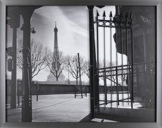 Paris Gate by P.T. Turk. Framed Photographic Print