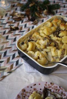 Gratin de gnocchis aux cèpes - Blog de Châtaigne