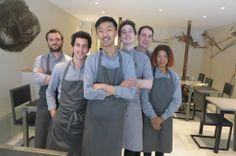 Atsushi Tanaka et son équipe chez AT (Paris 5e)