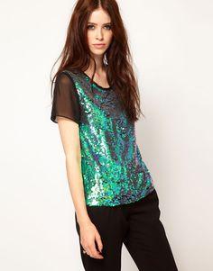 Backless mermaid shirt