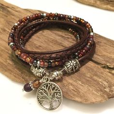 Top Seller Boho Wrap Bracelet Leather от BohoBlissCreations