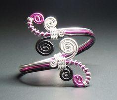 Overlapping Spirals Adjustable Bracelet by melissawoods on Etsy, $18.00
