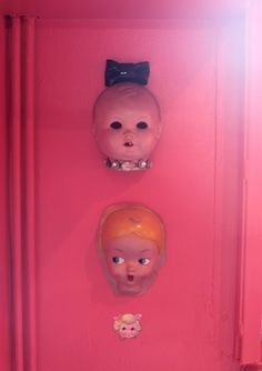 the fact that I already have a decapitated baby doll head in my room is probably a sign...