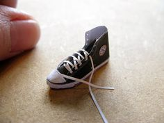 Converse High Tops http://mitchymoominiatures.blogspot.com/2016/04/30-somethings-1-converse-boots.html