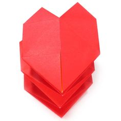 Learn to make and origami heart easily. Nice place to learn unique origami models using paper. 3d Origami Heart, Origami Models, Learning, Unique, How To Make, Spring, Collection, Teaching, Studying