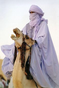 Tuareg man in the Sahara - Libya