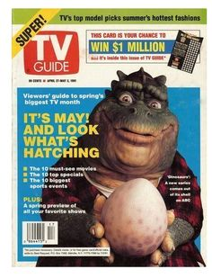 TV Guide - Dinosaurs - 1991