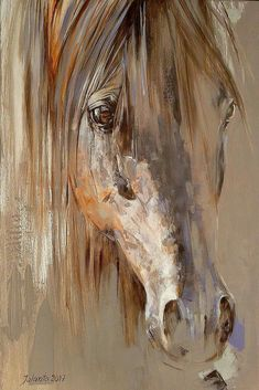 This horse painting is the perfect farmhouse decor.You can find Equine art and more on our website.This horse painting is the perfect farmhouse. Seven Horses Painting, Horse Oil Painting, Watercolor Horse, Painting Art, Watercolor Painting, Painted Horses, Arte Equina, Horse Sketch, Horse Artwork