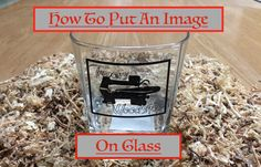 How to transfer an image to glass