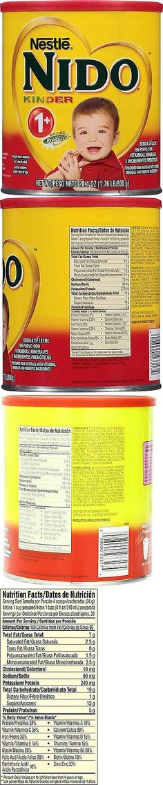 Flavored Coffee 115718: Nestle Nido Kinder 1+ Powdered Milk Beverage, 1.76 Lb. Canister -> BUY IT NOW ONLY: $47.02 on eBay!