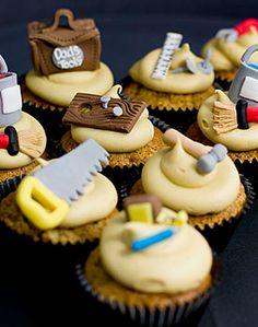Cupcake para homens artesãos