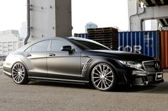 Mercedes Benz CLS-class C218 Sports Line Black Bison Edition