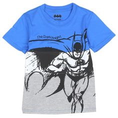 """Batman Toddler Little Boys """"The Dark Knight"""" T-Shirt - castle label Family Outfits, Baby Boy Outfits, Toddler Fashion, Kids Fashion, Sister Shirts, Polo T Shirts, Summer Baby, Cartoon Kids, Toddler Boys"""