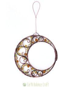 Sun Catcher Moonlight Crescent Moon Moon Gifts Crystal