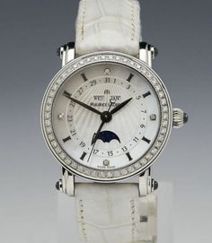 MAURICE LACROIX MASTERPIECE PHASE DE LUNE SS MOP DIAMONDS W1243