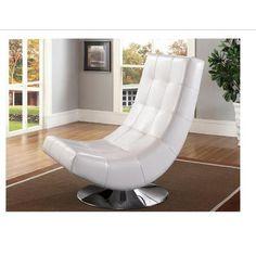Fabric Swivel Club Chair