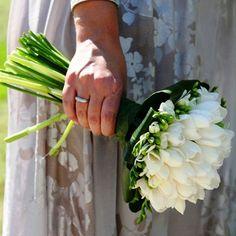 image_1_large Tulip Wedding, Wedding Colors, Wedding Flowers, White Tulip Bouquet, White Tulips, Boquet, Bride Bouquets, Flower Girl Wreaths, Amarillis