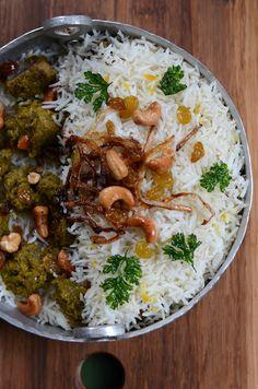 Lamb Biryani - Rosh HaShana 5773 Indian Style