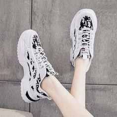 Women's #white black casual shoe #sneakers label & camo pattern design Black Shoes Sneakers, Black Casual Shoes, Shoe Shop, Camo, Pattern Design, Running Shoes, Label, Sport, Shopping