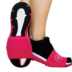 The DanceSocks for over tennis shoes.. I gotta try this for Zumba