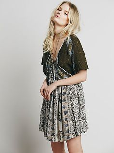 Free People Embroidered Austin Dress at Free People Clothing Boutique