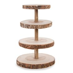 Wood Cup Cake Stand-16 Inches High, On Sale Now!!