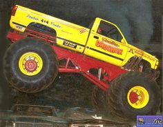 Monster truck pictures and information in a monster truck photo album which consists of over 850 full sized Monster truck Monster Truck Show, Big Monster Trucks, Monster Jam, Cool Trucks, Big Trucks, Customised Trucks, Bigfoot, Lifted Trucks, Old School