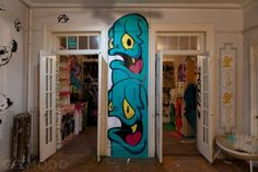 A Secret Street Art Show Inside Condemned Building In NYC