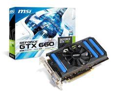 MSI NVIDIA GeForce GTX 660, 2GB GDDR5, PCI Express 3.0 Graphics Card N660-2GD5/OC by MSI Computer Corp.. $233.99. MSI NVIDIA GeForce GTX 660 2GB GDDR5 OC 2DVI/HDMI/DisplayPort PCI-Express Video Card
