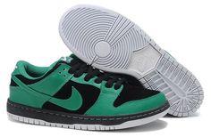 Nike Dunk SB Basse Noir Vert pn418 Pour Homme ae8f60b0940