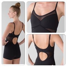 LULULEMON Drop It Like It's Hot Leotard 6 MUSTHAVE Lululemon Drop it like it's hot leotard. Brand-new with tags. Size 6. Full-on Luxtreme with mesh panel cut outs. lululemon athletica Other