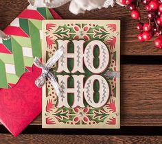 Ho Ho Christmas Card