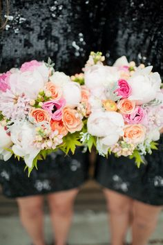 Neutral with a pop of bold color schemes.  #LaubergeDelMar #weddingtrends
