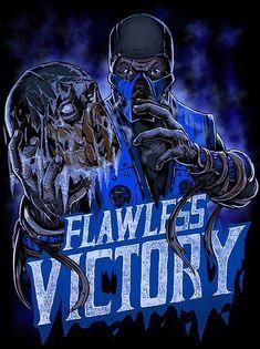 Mortal Kombat by Gleb S. Baker Sub-Zero Mortal Kombat 9, Zero Wallpaper, Skull Wallpaper, Fighting Games, Video Game Art, The Villain, Street Fighter, Got Game, Game Character
