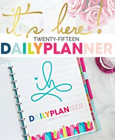The 2015 iHeart Planner is HERE! And a Huge Planner Products Giveaway! - IHeart Organizing