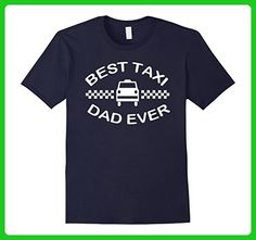 Mens Best Taxi Dad Ever Father's Day T-Shirt - Car Small Navy - Holiday and seasonal shirts (*Amazon Partner-Link)