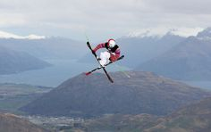 freestyle skiing- wish i could do this stuff