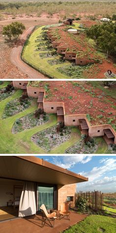Luigi Rosselli Designs 12 Homes Behind A Large Rammed Earth Wall