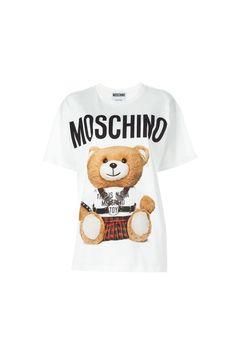 Moschino ma również t-shirty z misiem, nie takie jak u nas, ale motyw ten sam. Nasze równie słodkie!